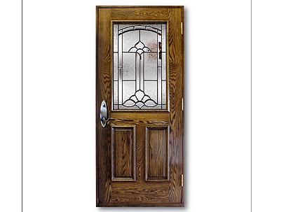 portes ext rieures en bois portes et fen tres lamater. Black Bedroom Furniture Sets. Home Design Ideas